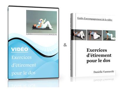 Exercices d'étirement pour le dos